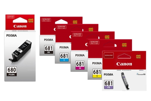 Canon PGI680 + CLI681 6 Colour Ink Value Pack (Genuine)