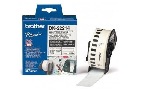 Brother DK22214 Continuous Length Paper Tape (Genuine)