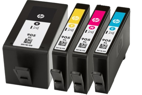 HP #905 OfficeJet Pro 6950 6960 6970 High Yield Ink Cartridge(Genuine)