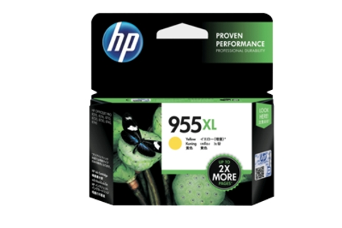 HP #955XL L0S69AA Yellow High Yield Ink (Genuine)