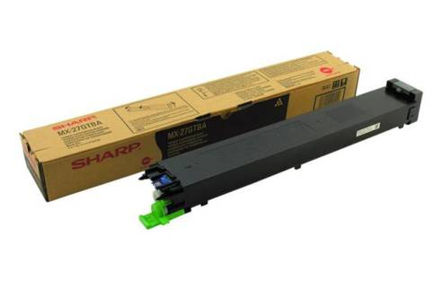 Sharp MX27GTBA Black Toner Cartridge (Genuine)