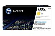 HP #655A CF452A Yellow Toner Cartridge (Genuine)