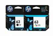 HP #63 ENVY 4520 Ink Cartridge Combo Pack (Genuine)