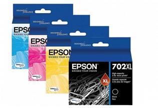 Epson 702XL High Yield Ink Value Pack (Genuine)