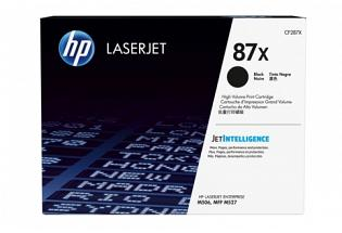 HP CF287X #87X Black Toner Cartridge (Genuine)