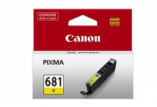 Canon CLI681Y Yellow Ink (Genuine)
