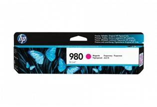 HP NO 980 D8J08A Magenta Ink Cartridge (Genuine)