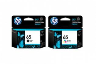 HP #65 DeskJet 3720 3721 Ink (Genuine)