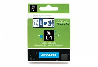 DYMO SD45014 Cyan on White 12MM X 7M Tape (Genuine)